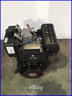 10hp Tomahawk Diesel Engine 418cc 4 Stroke Single Cylinder 2 3/4 Shaft Length