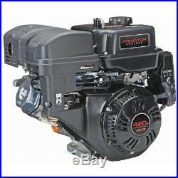 13 HP (420cc) OHV Horizontal Shaft Gas Engine Blower Mower Tiller Splitter Pumps