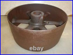 14 FLAT BELT PULLEY Fits On 2-1/16 SHAFT for Hit and Miss Antique Gas Engine