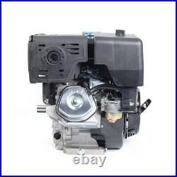 15HP 4 Stroke OHV Horizontal Shaft Gas Engine Recoil Start Kart Motor 9kw 420cc