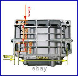15HP Gas Engine 4-Stroke 420cc OHV Horizontal Shaft Recoil Start Go Kart Motor