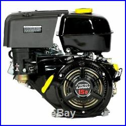 15 HP Equipment Engine, 1 in. 420cc Electric Start Horizontal Shaft Gas Engine