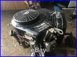 16HP BRIGGS VANGUARD VERTICAL SHAFT ENGINE Model 303777 1 CR VIDEO