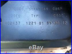 16 HP BRIGGS & STRATTON ENGINE HORIZONTAL SHAFT, PTO clutch, dual exhaust