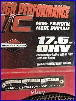 17.5 Briggs & Stratton I/c High Performance Ohv Vertical Shaft Engine