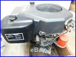 17 HP Kohler Pro OHV vertical shaft electric start engine. Electric start