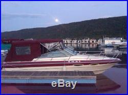 1987 Sea Ray 230 Cuddy Cabin with 260 hp Mercruiser engine, 513 engine hours