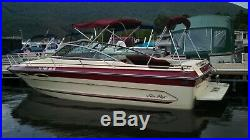 1987 Sea Ray 230 Cuddy Cabin with 260 hp Mercruiser engine, 513 engine hours