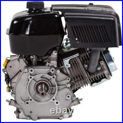 1 In. 15 Hp 420Cc Ohv Electric Start Horizontal Keyway Shaft Gas Engine With 18