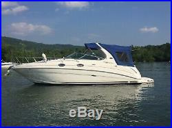 2003 Sea Ray 280 Sundancer Low Hours on Twin Factory V8 Fuel Injected Engines