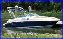 2006 Sea Ray 240 Sundeck New Engine New Trailer Ready to Go
