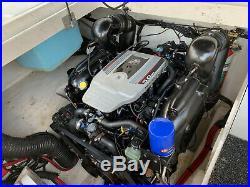 2010 Sea Ray 260 Sundeck ENGINE withWARRANTY No Bottom Paint Dry-stored Blue-white