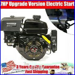 212CC 7HP 55-STROKE Shaft Electric Start Engine Gas Power Engine Motor Go Karts