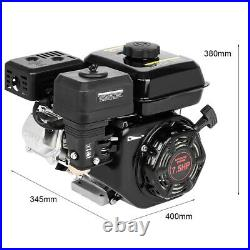 212CC 7.5HP Gas Power Engine Motor, Go Kart Log Splitter Water Pump Shaft Engine