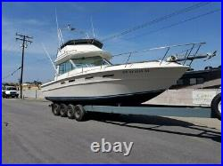 30' Sea Ray factory remanufactured engines with 2 hrs. Time on each