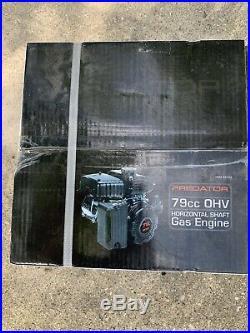3 HP (79cc) OHV Horizontal Shaft Gas Engine