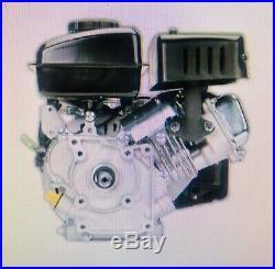 3 HP (79cc) OHV Horizontal Shaft Gas Engine EPA Mowers Gokart Scooter Cart New
