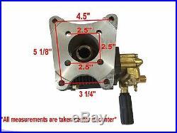 4000PSI Pressure Washer Pump Horizontal Shaft 1 Fits Honda Engine EB4040HA