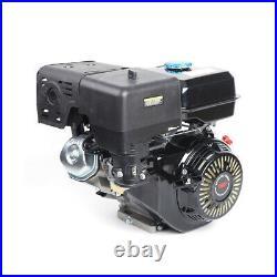 4-Stroke 15HP 420cc OHV Horizontal Shaft Gas Engine Recoil Start Kart Motor