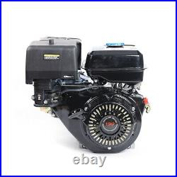 4 Stroke 15HP 420cc OHV Horizontal Shaft Gas Engine Recoil Start Kart Motor USA
