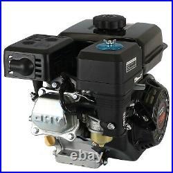 4-Stroke 7.5HP 210cc OHV Horizontal Shaft Gas Engine Recoil Start Go Kart Motor