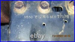 5hp TECUMSEH Engine HS50 Dual shaft COMPLETE