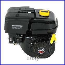 6.5HP 61 Recoil Start Gear Reduction Gas Engine Horizontal Shaft Multiple Model