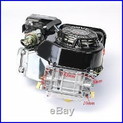 6.5 HP (210cc) OHV Horizontal Shaft Gas Engine + Clutch Go Kart Snowblower 170F