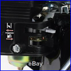 6.5 HP (210cc) OHV Horizontal Shaft Gas Engine LAWN Mower Log Splitter Go-Kart