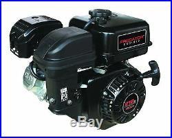 6.5 HP 212 CC Predator Horizontal Shaft Go Cart Mini Bike Gas Engine New