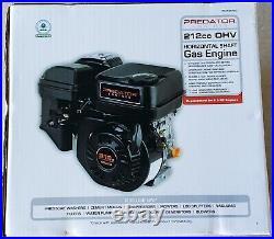 6.5 HP (212cc) OHV Horizontal Shaft Gas Engine EPA Go Carts/Mowers/Snow Blowers