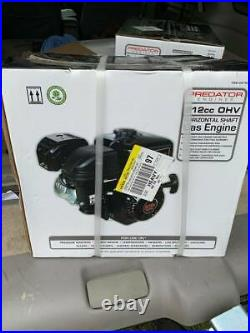 6.5 HP (212cc) OHV Horizontal Shaft Gas Engine EPA Ships out within 24 hours
