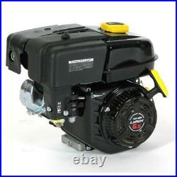 6.5 hp ohv recoil start 61 gear reduction horizontal shaft gas engine