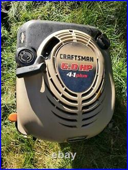 6hp CRAFTSMAN Briggs engine 4 in 1 Chipper Shredder Vac 247.77055 tapered shaft