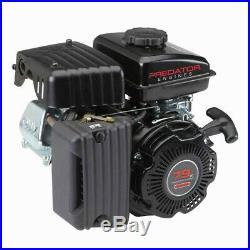 79cc OHV Horizontal Shaft Gas Engine Go Kart Lawn Mower Log Splitter