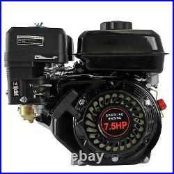 7HP 210cc OHV Horizontal Shaft Gas Engine Motor for Honda Go Kart Log Splitter