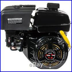 7HP Small Gas Engine Go Kart Log Splitter Mini Bike water pump Side Shaft