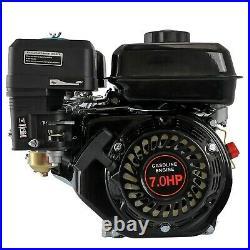 7.0 HP Go Kart Engine Motor Log Splitter Gas Motor Lawn Mower 20mm Shaft