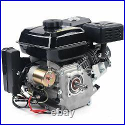 7.5HP (210cc) OHV Horizontal Shaft Gas Engine LAWN Mower Log Splitter Go-Kart