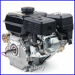 7.5HP 212CC Gas Engine Electric Start Side Shaft Motor OHV Gasoline Engine USA