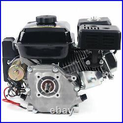 7.5HP 4-Stroke Gas Engine Electric Start Side Shaft Motor OHV Gasoline Engine