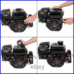 7.5HP Gas Engine Electric Start Side Shaft Motor OHV Gasoline Engine 3600RPM USA