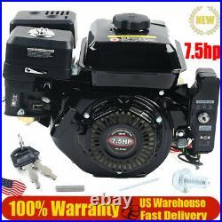 7.5HP OHV Gasoline Engine Electric Start Side Shaft Motor Gas Engine 3600RPM