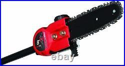 8Polesaw Attachment For Cub Cadet 25cc/Remington RM2700 27cc/Ryobi 2-cycle 25cc