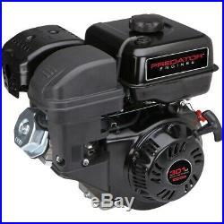 8 HP (301cc) OHV Horizontal Shaft Gas Engine EPA