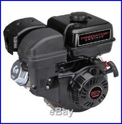 8 HP (301cc) OHV Horizontal Shaft Gas Engine EPA/CARB