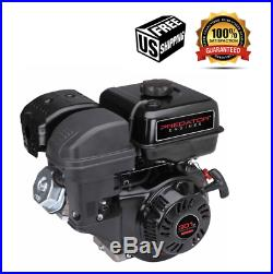 8 HP (301cc) OHV Horizontal Shaft Gas Engine EPA/CARB For Power Washing New