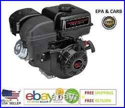 8 HP (301cc) OHV Horizontal Shaft Gas Engine EPA CARB Predator Replacement