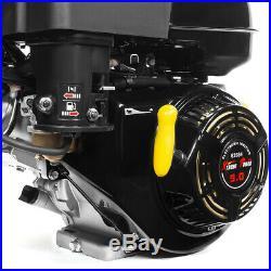 9HP OHV Horizontal Shaft Gas 270cc Motor Engine Mini Bike Snowblower Go Cart EPA