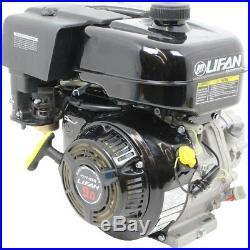 9 HP 270cc Recoil Start 21 Clutch Gear Reduction Horizontal Shaft Gas Engine